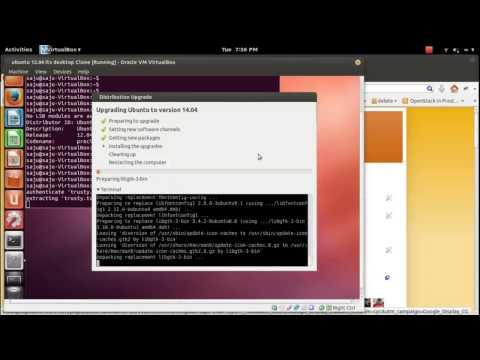How to upgrade Ubuntu 12.04 to 14.04