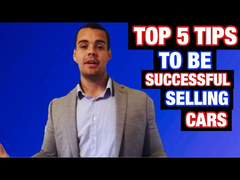 Best Car Sales Training (WATCH UNTIL THE END)