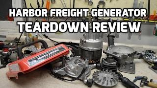 Download Teardown: Harbor Freight Storm Cat or Tailgator generator review Video