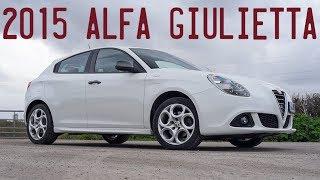 2015 Alfa Giulietta Sprint taken for a drive