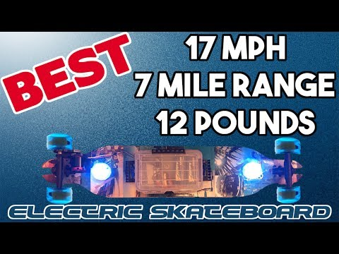 DIY $250 Electric Skateboard Cheap FAST Light