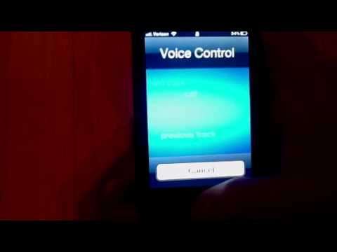 Voice Control on iPhone 4