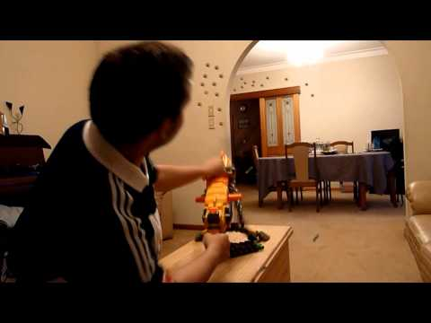 Nerf War: with real bullets P1