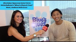 Blue's Clues And You Host Joshua Dela Cruz Talks New Show & Guesses Nickelodeon Characters