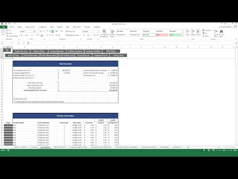 Feasibility Study Template: Trading Company