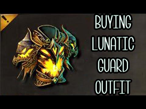 BUYING LUNATIC GUARD OUTFIT! | Guild Wars 2 Gemstore Shopping #061