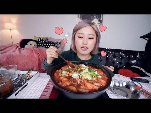 Craving Spicy!!! 🔥🔥Spicy Braised Chicken (Dak-bokkeum-tang) Recipe Mukbang | KEEMI★