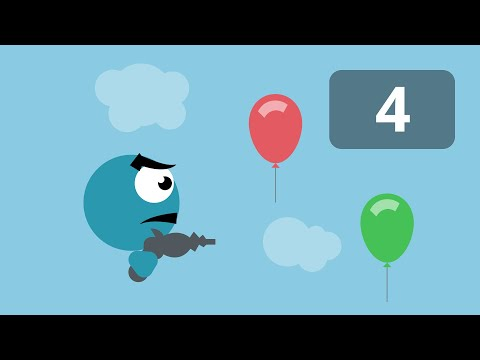 Balloon Shooter Game in FlashPunk - Episode 4/4