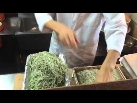 Soba Noodle Bowl Preparation