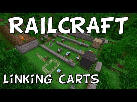 Railcraft: Linking Carts