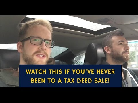 Watch This If You've Never Been To A Tax Lien or Deed Sale (TLTV Ep  29)