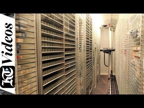 How the robot pharmacist works at the Dubai Hospital