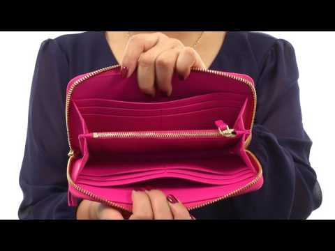 8a8cdaaf7472 ... Robinson Woven Leather Convertible Bag Unboxing · Tory Burch Fleming  Snake Zip Continental Wallet SKU 8843616