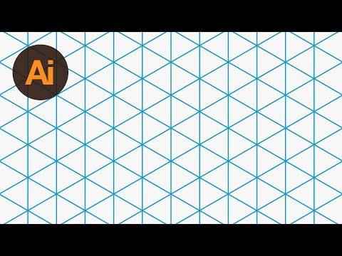 Design an Isometric Grid Illustrator Tutorial