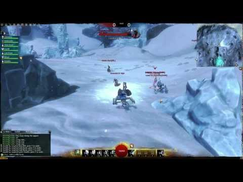 Guild Wars 2 Christmas PVP Gameplay