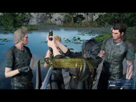 FINAL FANTASY XV - Spotted Devil Gar fish caught- Spot Location & Lure type