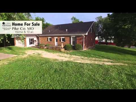 Updated Historic Home & Equestrian Ranch in Pike County, MO