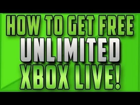 How to Get FREE Unlimited Xbox Live Gold!! (December 2014)