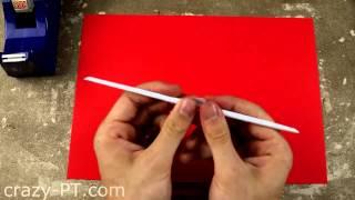 How to Make a Paper Nunchaku   Ninja Weapons