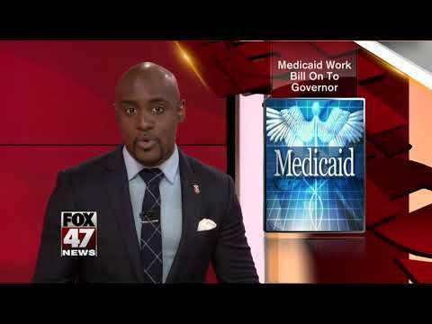 Michigan Medicaid work requirement bill sent to Gov. Snyder