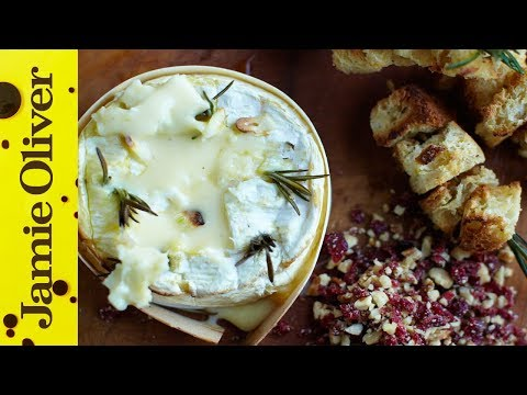 Baked Camembert with Garlic & Rosemary   Jamie Oliver