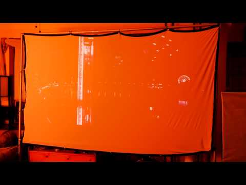 HiCool 120 Inch Fabric Projector Screen Review