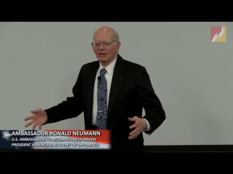 Ambassador Ronald E  Neumann:  Looking Ahead in American Foreign Policy