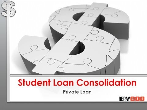 Private Student Loan Consolidation