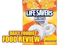 Life Savers Orange Mints Review - Hard Candy