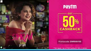 Simran → In Cinemas Now || Book Your Tickets On Paytm