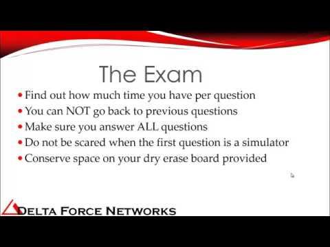 Tips & Tricks to pass CISCO CCNA Exam