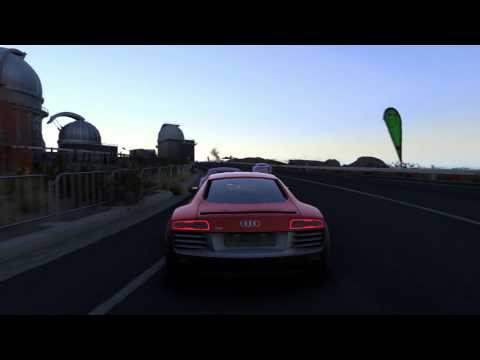#DRIVECLUB Time Trial at Night   Audi R8 V10 Plus   PS4 Gameplay