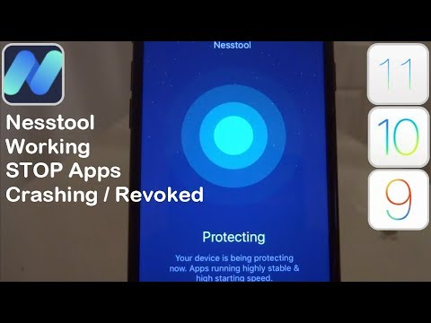 NEW Nesstool Working Proof STOP Apps Getting Revoked iOS 11 / 10 / 9 NO Jailbreak iPhone iPad iPod