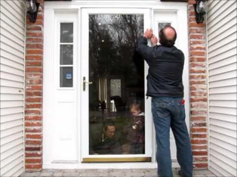 Anderson Storm Door Installation.wmv