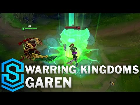 Warring Kingdoms Garen Skin Spotlight - League of Legends