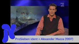 ProSieben ident und ansage Alexander Mazza (1997)