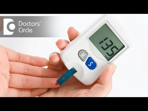 What causes similar values of blood sugar before & after food? - Dr. Sanjay Panicker