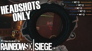 Headshot Only Ace - Aces Of October (Rainbow Six Siege)