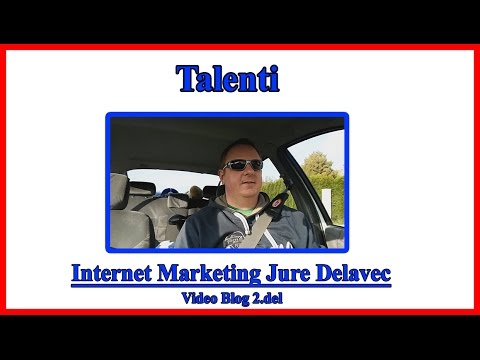 Jure Delavec Video Blog 2.del - Talenti