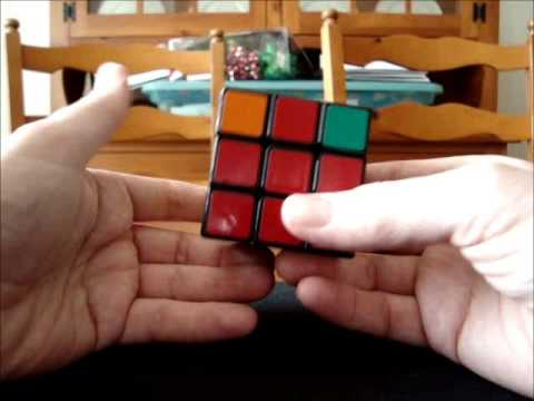 Solve Rubik's Cube without memorization - Part 10 - 4 corner situations