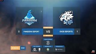 MPL Day 2 ! Evos Vs Pandora - Mobile Legends