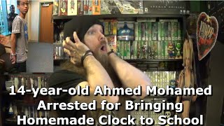 14-year-old Ahmed Mohamed Arrested for Bringing Homemade Clock to School