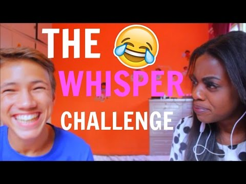 THE WHISPER CHALLENGE w/Clyde Croft