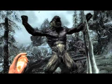 Elder Scrolls V Skyrim: Official Gameplay Trailer