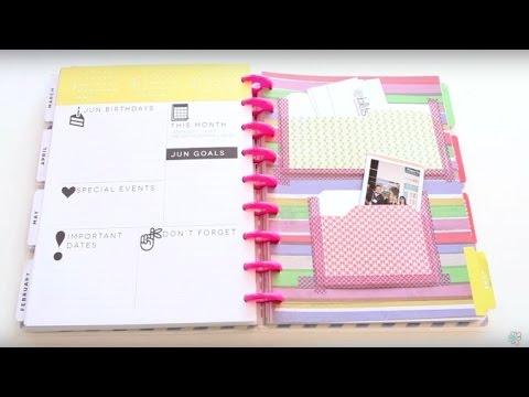 Planner Hack: DIY File Folder Pockets