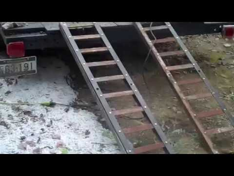 DIY trailer ramps with out welding