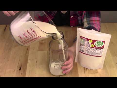 How to Make Low Carb Milk - Instructional Video