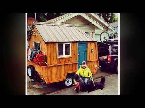 Fabulous Tiny House on Wheels, From Converted Pop Up Camper