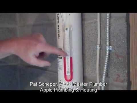 Apple Plumbing & Heating Installs a Radon Mitigation System