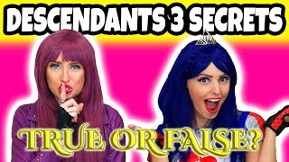 5 Descendants 3 Secrets Revealed. Are the Rumors About Decendants 3 True or False? (Totally TV)